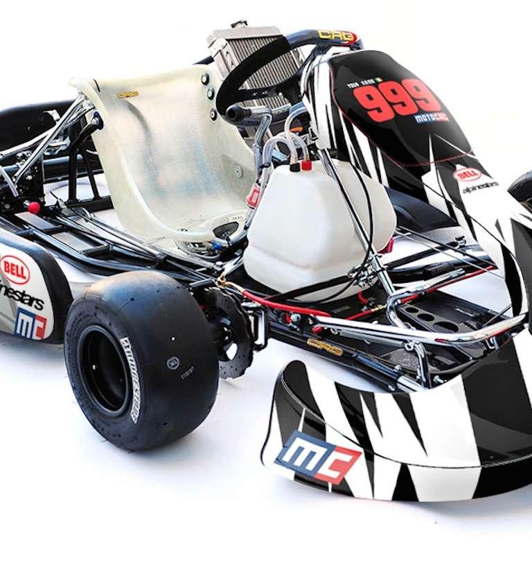 Kart Motocal Motor Racing Decals Motocal Motor