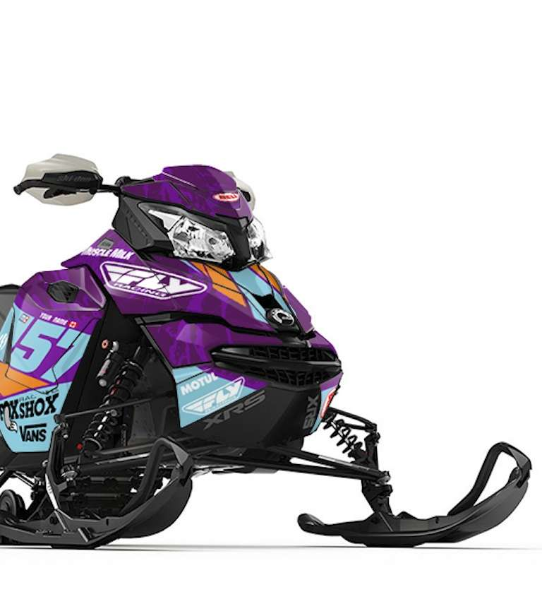 Snowmobile Custom Decals