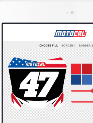 Motorcycle Decal | Custom Bike Decals | Motocal - Motor