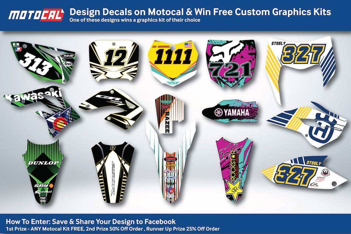 Motocal Shared Design Competition Motocal Motor Racing Decals