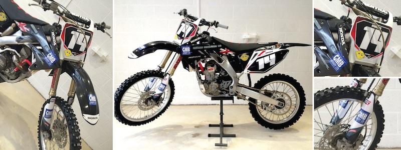 Honda CRF250R Graphics   Motocal - Motor Racing Decals