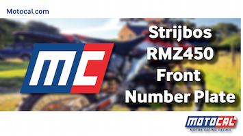KTM 350 SX-F Number Plate Design