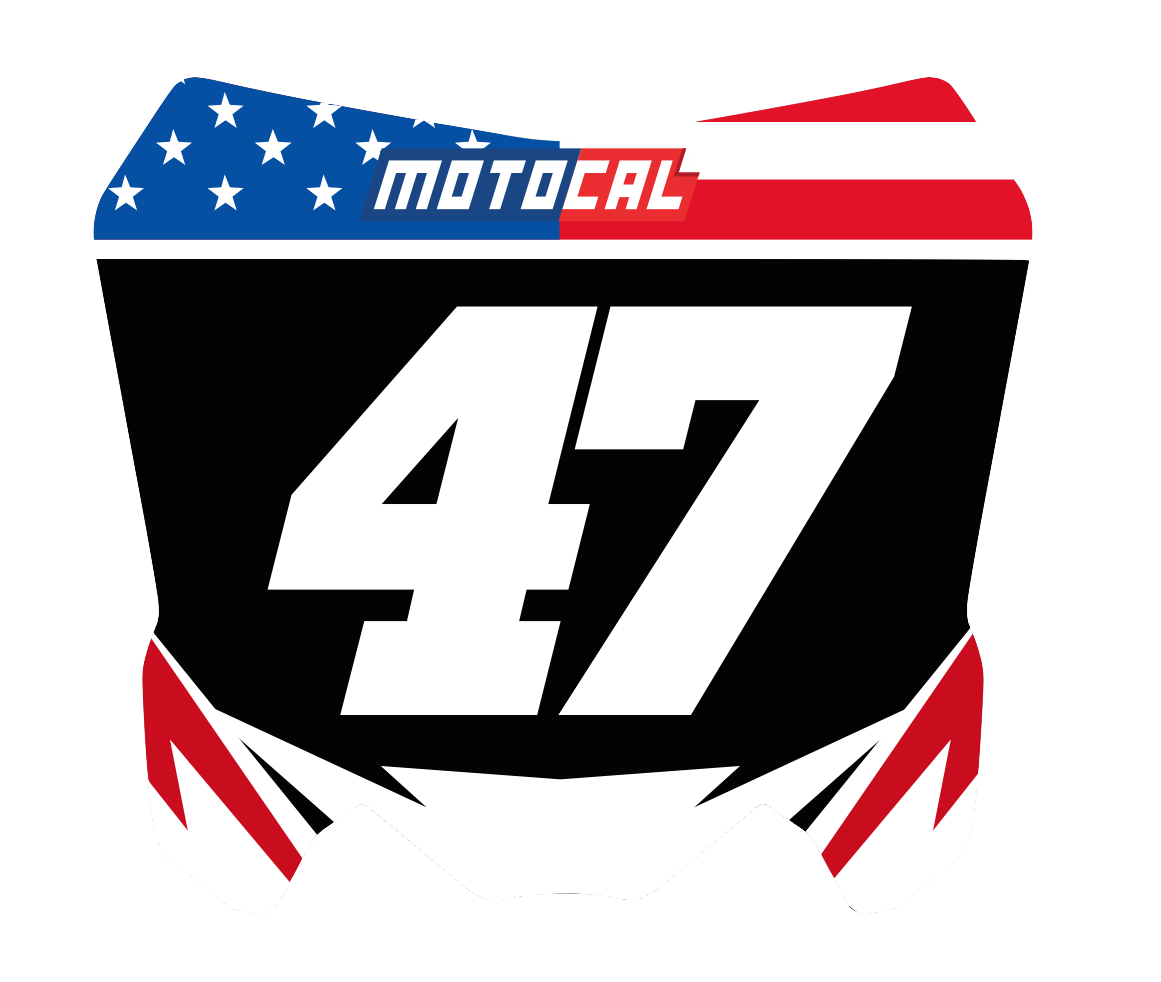 motocal motor racing decals