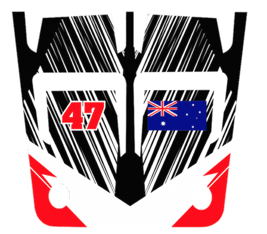 Motocal atv custom decals