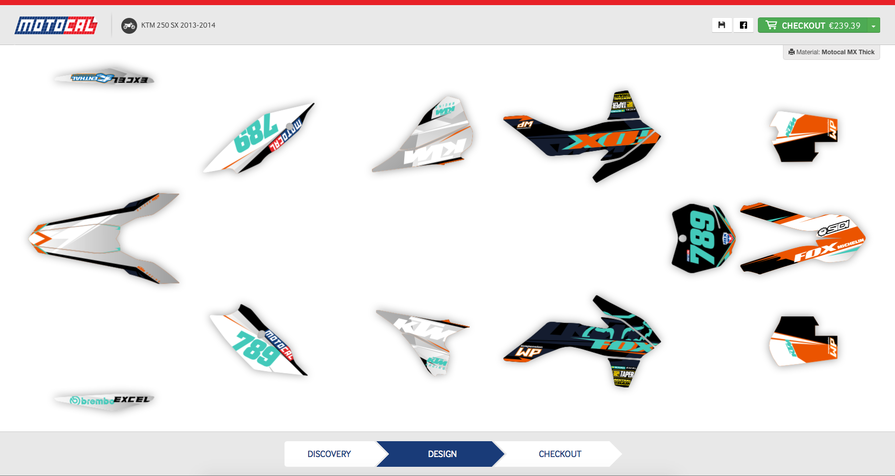 Bike stickers design discover - Take A Look At A Selection Of Ktm Sx Decals