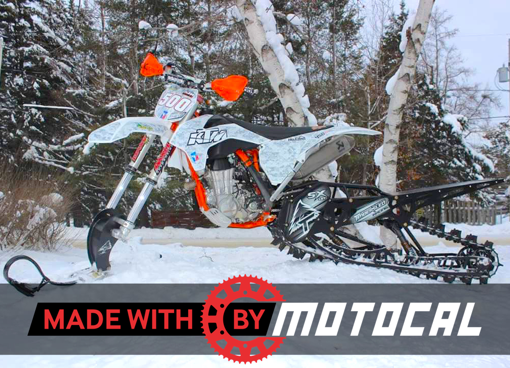 Ktm graphics designed by motocal users