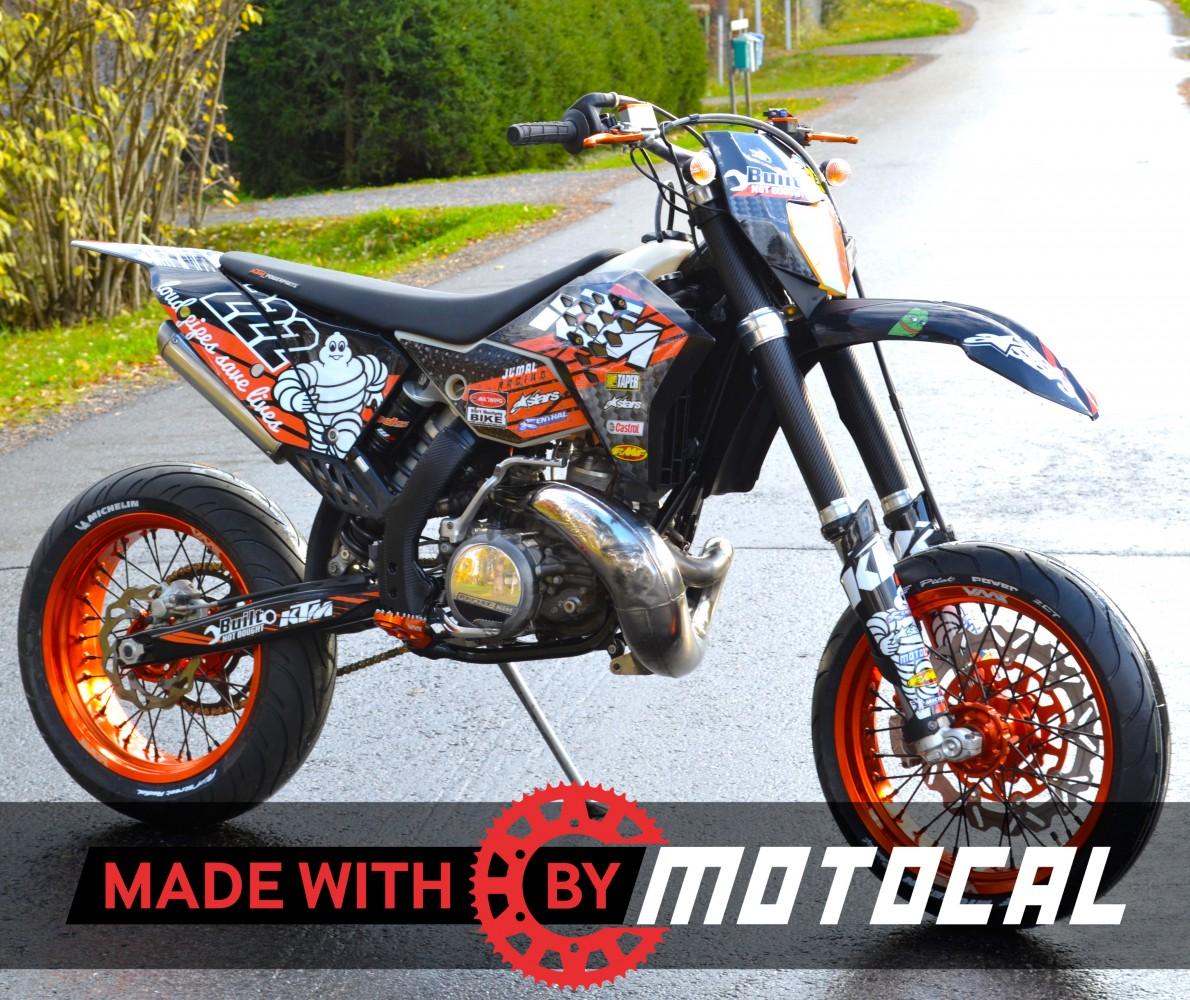 Custom KTM Decal Design Motocal Motor Racing Decals - Red bull motorcycle custom stickers