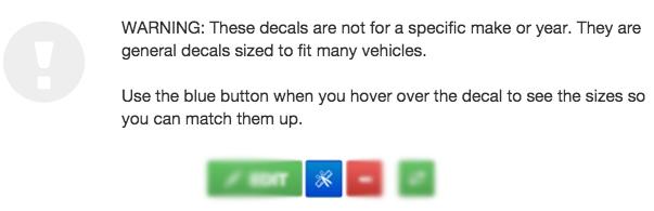 vehicle templates motocal motor racing decals