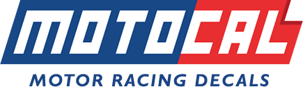 Motocal - Motor Racing Decals